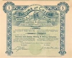 Tacoma and Chelan Mining & Milling Company 1903 - Tacoma, Washington