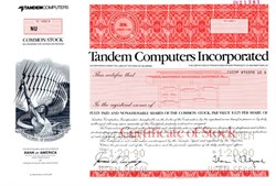 Tandem Computers Incorporated - Delaware 1987