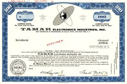 Tamar Electronics Industries, Inc. - Delaware 1968