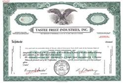 Tastee Freez Industries, Inc. - Delaware