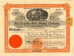 Taviche Gold Mining Company - Arizona 1905