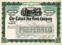 Tabard Inn Book Company - 1913