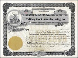 Talking Clock Manufacturing Co. - Missouri
