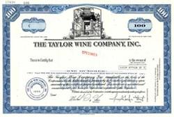 Taylor Wine Company, Inc. - New York