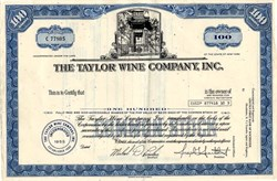 Taylor Wine Company, Inc. - New York
