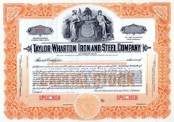 Taylor - Wharton Iron and Steel Company