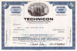 Technicon Corporation - Lab Equipment - Acquired by Revlon