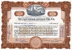 Texas Consolidated Oil Company - California 1940