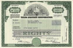 Texas Eastern Corporation (Became Duke Energy) - Delaware 1986