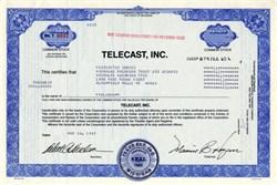 Telecast, Inc. - 1987