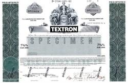 Textron Inc. - Delaware 1983