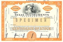 Texas Instruments Incorporated - Delaware