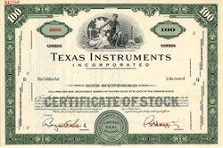 Texas Instruments Incorporated ( Pat Haggerty as President) - 1966