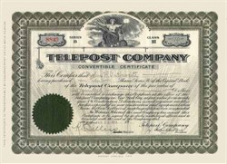 Telepost Company 1911