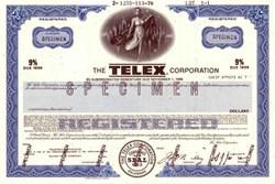 Telex Corporation (Pre Fax Machine) - 1971