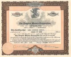 Templar Motors Corporation - 1920