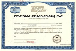 Tele-Tape Productions, Inc. - Illinois 1968