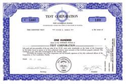 Test Corporation