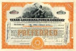 Texas - Louisiana Power Company 1931