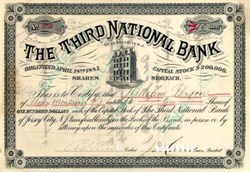 Third National Bank of Jersey City 1870's