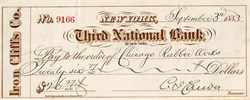 Third National Bank of New York - 1883