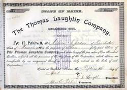 Thomas Laughlin Company 1901