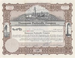 Thomasson Panhandle Company - Colorado 1943