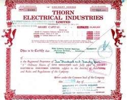 Thorn Electrical Industries - Famous Music Company