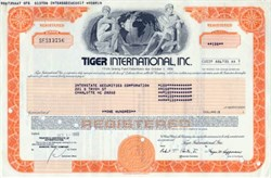 Tiger International, Inc. - 1980  ( Now Federal Express )