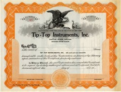Tip-Top Instruments, Inc.- New York