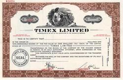 Timex Limited - Hamilton, Bermuda