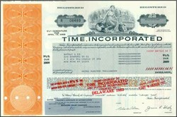 Time, Incorporated - New York ( Pre Warner Communications and AOL mergers )