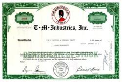 T. M. Industries, Inc.