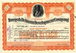 Tonopah Belmont Development Company - New Jersey 1930