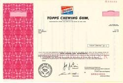 Topps Chewing Gum (Bazooka Gum Vignette) - New York 1978