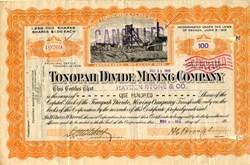 Tonopah Divide Mining Company - Nevada 1919