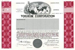 Tokheim Corporation Indiana 1978