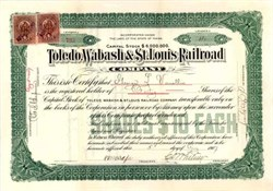 Toledo, Wabash & St. Louis Railroad 1907
