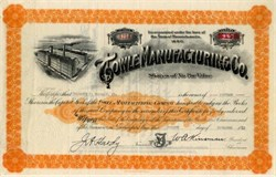Towle Manufacturing Co (Towle Silversmiths) - Massachusetts 1948