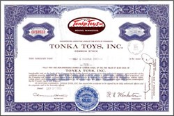 Tonka Toys, Inc. (Now Hasbro)