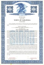 Town of Saratoga - North Carolina 1956