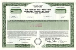 Town of West New York Municipal Utilties Authority, New Jersey