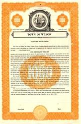 Town of Wilson - North Carolina 1948