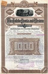 Toledo, Peoria and Western Railway Company - New York 1887