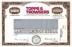 Topps & Trowsers