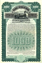 Toledo Railway & Terminal Company - Ohio 1902
