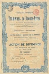 Tramways de Buenos Ayres 1907