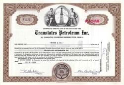 Transtates Petroleum Inc.