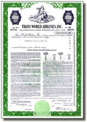 Trans World Airlines, Inc. 1961 - Pre American Airlines Takeover