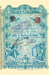 Trust Colonial Bond - Brussels 1899